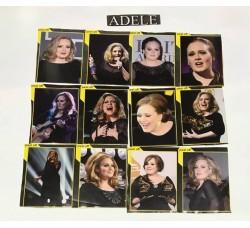 ADELE - Adesivi Rimovibili - 12 Stickers