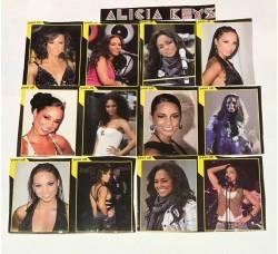 ALICIA KEYS - Stickers - Adesivi Rimovibili - 12 Stickers