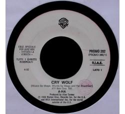 A-HA / Nick Kamen – Cry Wolf / Each Time You Break My Heart – 45 RPM (Jukebox)