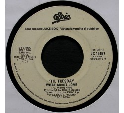 'Til Tuesday / The Stranglers ‎– What About Love / Always The Sun – 45 RPM (Jukebox)