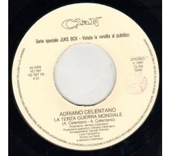 Adriano Celentano – La Terza Guerra Mondiale / Letto Di Foglie – 45 RPM (Jukebox)