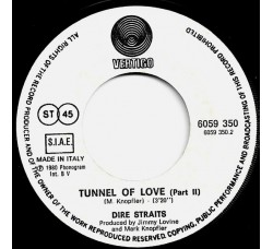 Dire Straits – Tunnel Of Love (Part One & Part Two) – 45 RPM
