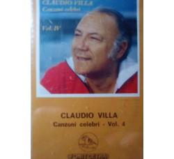 Claudio Villa - Canzoni celebri Vol.4 – (Cassetta)
