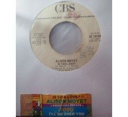 Alison Moyet / Toto – Is This Love? / I'll Be Over You - 45 RPM Jukebox)