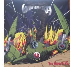 Vanexa – Too Heavy Too Fly -LP/Vinile Limited Vinyl Orange