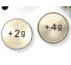 ANALOGIS - Pesi supplementari in alluminio per portatestine  headshell -