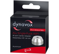 DYNAVOX - Adattatore CONICO silver per giradischi - altezza 20 mm -