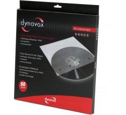 """DYNAVOX - Manicotti HDPE  per LP/12"""" - Antistatici - Antistrappo - Antigraffio - Qtà 50"""