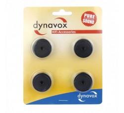 DYNAVOX - Piedini in alluminio dispositivo efuesse Midi Set di nero