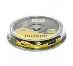 MAXELL 10 CD-R 700MB 80 MIN 52X CAKE BOX
