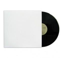 """Buste interne SFODERATI per  LP /12"""" - Bianche senza FORO centrale - Q.ta 25  -"""