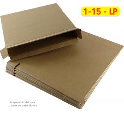 SCATOLE per la Spedizione dei DISCHI VINILI LP da (1-15 LP  ) LP- Q.ta  1 Scatola