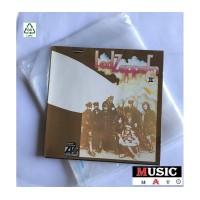 Buste ESTERNE PE per dischi vinili LP - DLP -Flap NO adesivo - 80 mµ - Q.ta 50