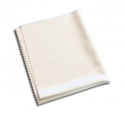 Panno per la pulizia professionale dei CD e DVD colore bianco -