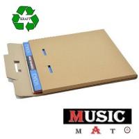 Scatola di Cartone KRAFT per la spedizione dei DISCHI VINILI - 1/ 3 LP o 5 Maxi single