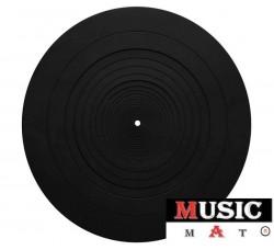MUSIC MAT - GOMMA SILICONE -Tappetino Slipmats per giradischi (1) Pezzo