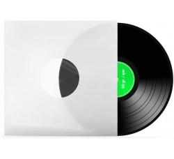 "Buste Interne carta 90gr FODERATI colore BIANCO per LP / 12"" - Angoli RETTI - Q.ta 25"