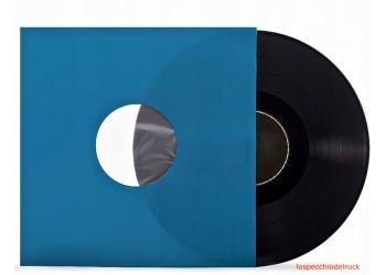 """Buste interne SFODERATI - Carta per LP, 12"""" colore BLU con Angolo tagliati - Q.ta 25"""