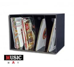 Espositore  BOX da PARETE o TAVOLO per 80 dischi vinili 45 Giri