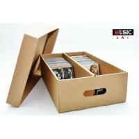 Contenitore di cartone con Coperchio -100/120 CD