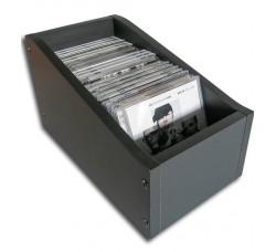 """Contenitore """"ZOMO""""  BOX legno MDF per 25 CD  Jewel Case (Conf.1 Box)"""