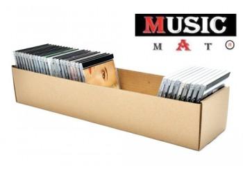 CONTENITORE BOX  SCATOLA di Cartone economica per 50 CD circa. Qtà 10