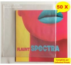 """BUSTE per Dischi Vinili LP - 12"""" - SPESSORE 80 my Polietilene - Qtà 50"""