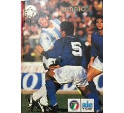 DIARIO AGENDA - 1990 associazione Italiana Calciatori  - Cm 20 x15 Circa