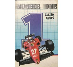 Diario Sport Number One  -Malpiero editore   - Cm 19 x13 Circa