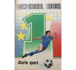 DIARIO AGENDA - Sport Number One  -Malpiero editore   - Cm 19 x13 Circa