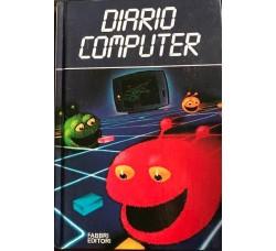 DIARIO AGENDA - Computer  - Fabbri Editore  1984 - Cm 20 x13 Circa