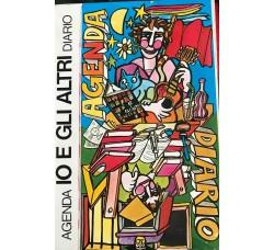 DIARIO AGENDA - IO E GLI ALTRI  - Copertina Franco Cavani  - 1978-1979 - Cm 20 x13 Circa