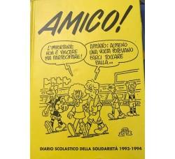 Amico - Diario da collezione - Anno 1993-1994 - Cm 21x15