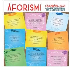 SPEDIZIONE GRATUITA - AFORISMI - CITAZIONI  - Calendario da collezione 2021