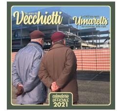 SPEDIZIONE GRATUITA - Omarelli, Ometti, Pensionati,- Calendario da collezione 2021