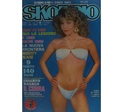 CINZIA DE PONTI  - Skorpio - n° 10 -17 MARZO - Anno 1983 -