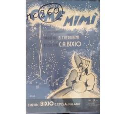 Spartito Musicale - Come Mimì - B. Cherubini e C. A. Bixio