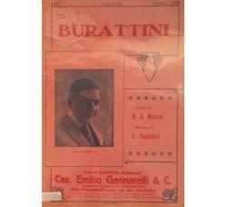 Spartito Musicale - Burattini - M. A. Mancini e E. Tagliaferri
