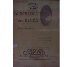 Spartito Musicale - La canzone del blues - A. Marchetti e A. Vigevan