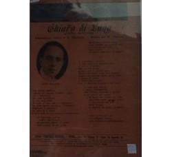 Spartito Musicale - Chiaro di luna - B. Cherubini  e Maestro Rusconi