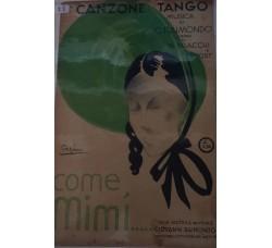 Spartito Musicale - Come Mimì - G. Raimondo, A. Braccchi e P. Prost
