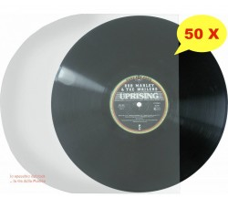 """Manicotti HDPE  my 40 per LP/12"""" - Antistatici - Qtà 50"""