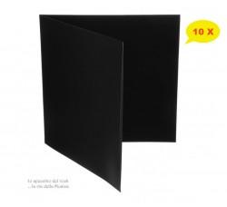 Copertine Cartone per LP & DLP Gatefold NERE - Qtà 10