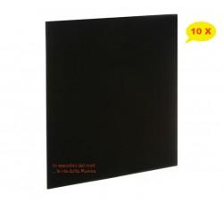 """Copertine per LP /12"""" COLORE NERO - SENZA foro - dorso mm3 - Qtà 10"""
