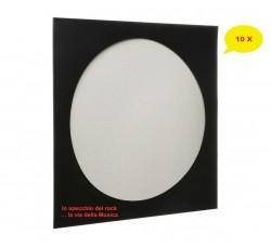 Copertine Cartoncino per Vinili PICTURE DISC colore NERO - Qtà 10