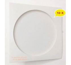 Copertine in Cartoncino per Vinili Picture disc - Colore Bianco  - Qtà 10