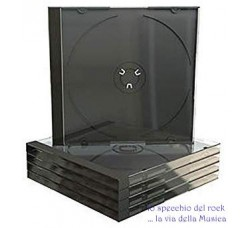 Custodie  Jewel Case Deluxe per 1 CD - Gr 70 - Qtà 20