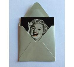 Caricatura – Marilyn Monroe  – Bigliettino D'auguri