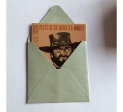Caricatura -  Clint Eastwood  – Bigliettino D'auguri