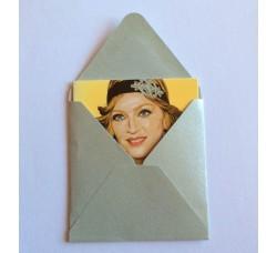 Madonna Caricatura - Bigliettino con bustina